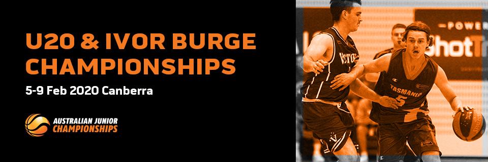 2020 Australian Under-20 & Ivor Burge Championships