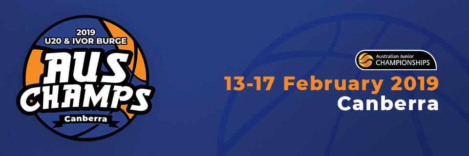 2019 Australian Under-20 & Ivor Burge Championships