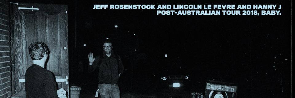 Jeff Rosenstock (Band) [USA] with Lincoln le Fevre & The Insiders + Hanny J + Shaky Handz + Billy Demos