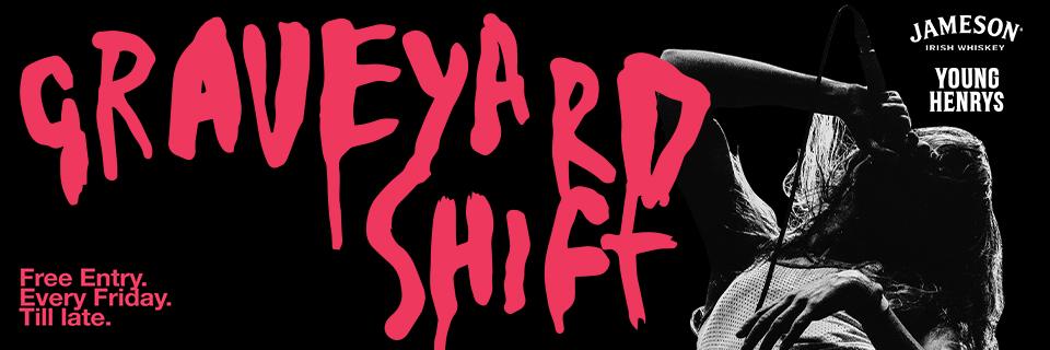 GRAVEYARD SHIFT - Narla / Hedy Lamarr