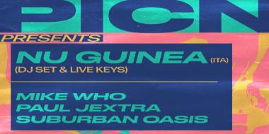 Nu Guinea (ITA) DJ Set + Live Keys
