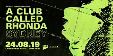 A CLUB CALLED RHONDA, SYDNEY