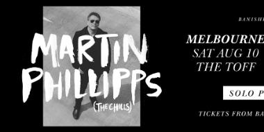 Martin Phillipps (The Chills) solo performance