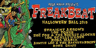 Freakbeat Halloween Ball 2019