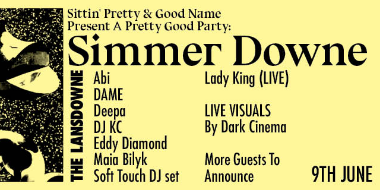 A Pretty Good Party: SIMMER DOWNE