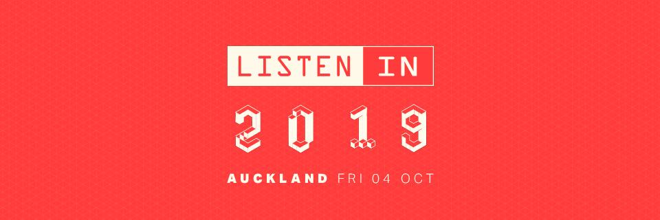 Listen In Auckland 2019