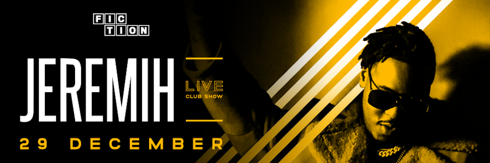 Jeremih Live at Fiction Club, Canberra