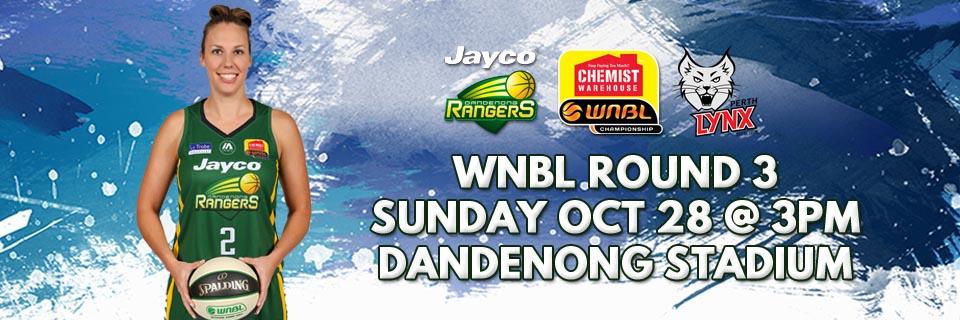 WNBL Round 3: Jayco Rangers vs. Perth Lynx