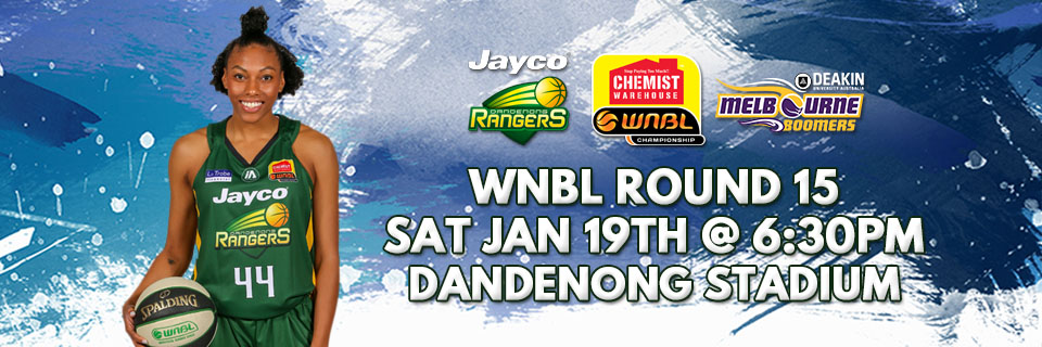 WNBL Round 15: Jayco Rangers vs. Melbourne Boomers