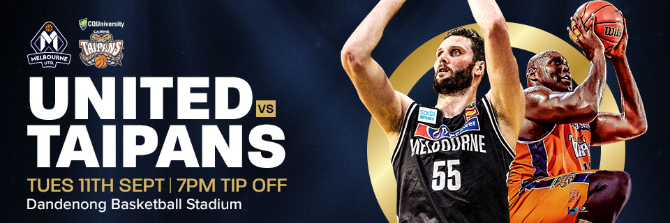 NBL Preseason: Melbourne United vs. Cairns Taipans