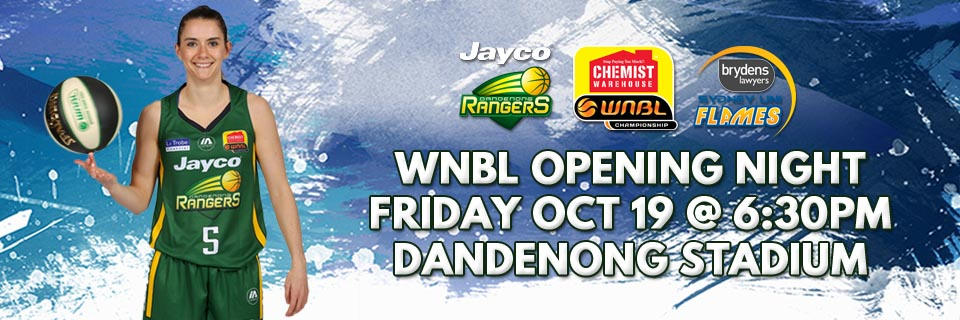 WNBL Opening Night: Jayco Rangers vs. Sydney Uni Flames